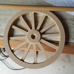 wood wheels from Ebay