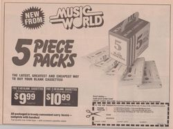 Music World Cassettes