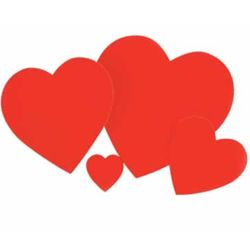 Red Heart Cutouts £8.99