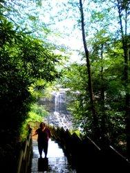 Karen at Blackwater Falls, West Virginia