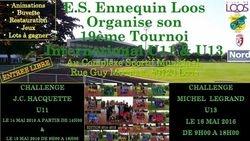 Tournoi U11/U13 d'Ennequin Loos