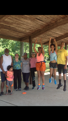 The OWC Family loves Walk Aerobics Camp