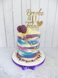 Brooke's 11th Birthday Buttercream Cake