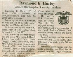 Hurley, Raymond E. 2000