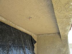 Stucco Ceiling Repair After