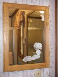 Seashells Bathroom Cabinet