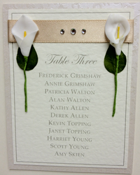 Lily Table Plan Close Up