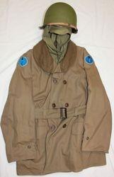 Attu Invasion,Task Force Mackinaw Coat: