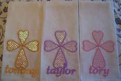 Carols Tea - towels using only Opal