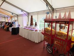 Event package serving 400 Guests Mr whippy ice cream, triple chocolate fountain and popcorn.