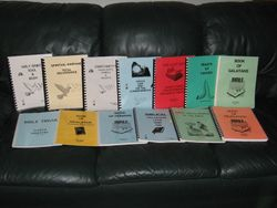 Some of Jerry's books