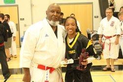 Women's Black Belt Kumite Grand Champion