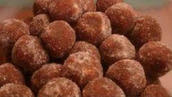 TAMBOURINE BALLS - BROWN