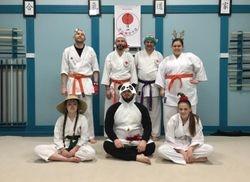 Class group Christmas pic