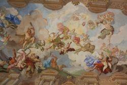 Ceiling in Melk Abbey