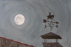 Moon over La Zubia