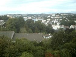 Looking out over Torquay Harbour