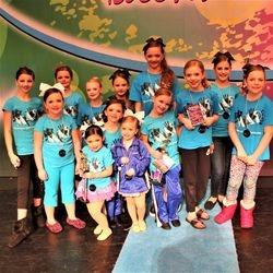 Dance team at Regionals
