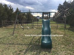 swing set installation service in vienna VA