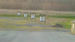 Outdoor archery targets