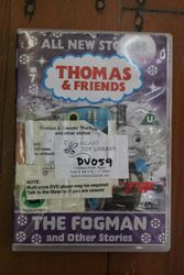 Thomas and friends. The frogman DVD