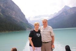 Lynda and Randy at Lake Louise