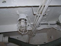 Light Fixture in RADAR Transmitter Room - June 2010