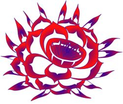 Cereus Flower Logo - variation