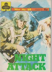 Club Library War Comic 1977