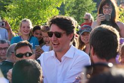 Justin Trudeau Visit to Dawson City