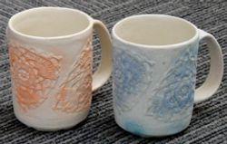 Crochet cups