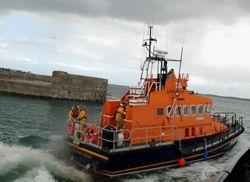 Donaghadee RNLI rescues stricken vessel