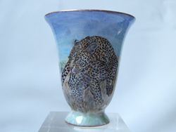 Leopard Stalking Cup- SOLD