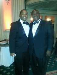 President John Anthony with Attorney Goodwill Pierre of Houston, TX