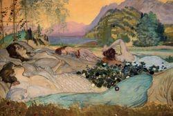 Davies, Sleep Lies Perfect in Them, 1908, Worchester