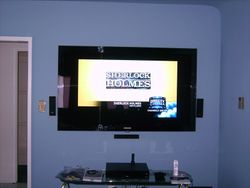 "Premium Installation 65""Samsung with 5.1 Surround System"