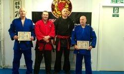 "Presentation to ""Hapkido Scotland"" Instructors of Membership in the ""Scottish Fighting Arts Society"""