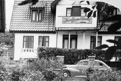 Kafe Kaffemollan 1937