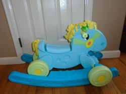 Fisher Price Vintage Rock to Roll Pony - $25