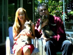 With the Cats & Nika, Fall 2008