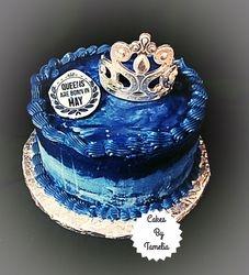 Blue Jean butter cream Cake