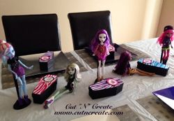 Monster High Coffin Favours