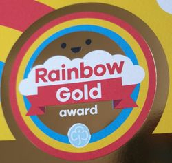 Rainbow Gold Award