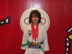 06-05-2011 Championship Giovanni Garcia 2nd pl forms 2nd pl breaking 2nd pl fighting