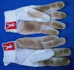 Albert Pujols 2009 Game Used Away Batting Gloves