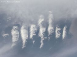 Interesting wave clouds
