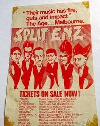 Split Enz Theatre Royal 1979
