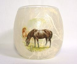 Horse 1 (only available in small tealight holder)
