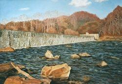 Embrey Dam, Winter, Fredericksburg