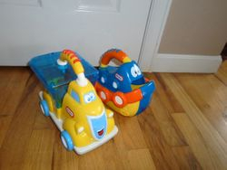 Little Tikes Handle Hauler Trucks-2 - $25